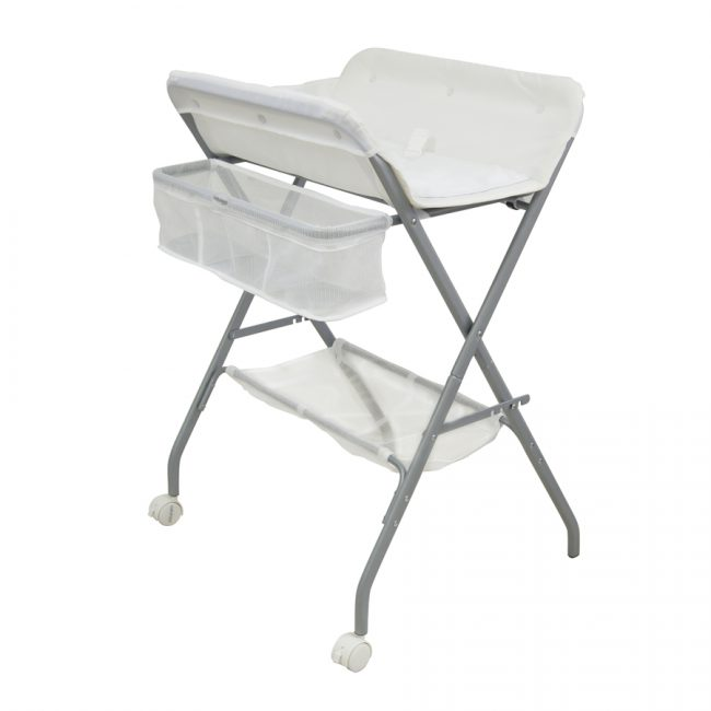 3 In 1 Deluxe Bath Stand, Change Table And Laundry Stand - babyhood