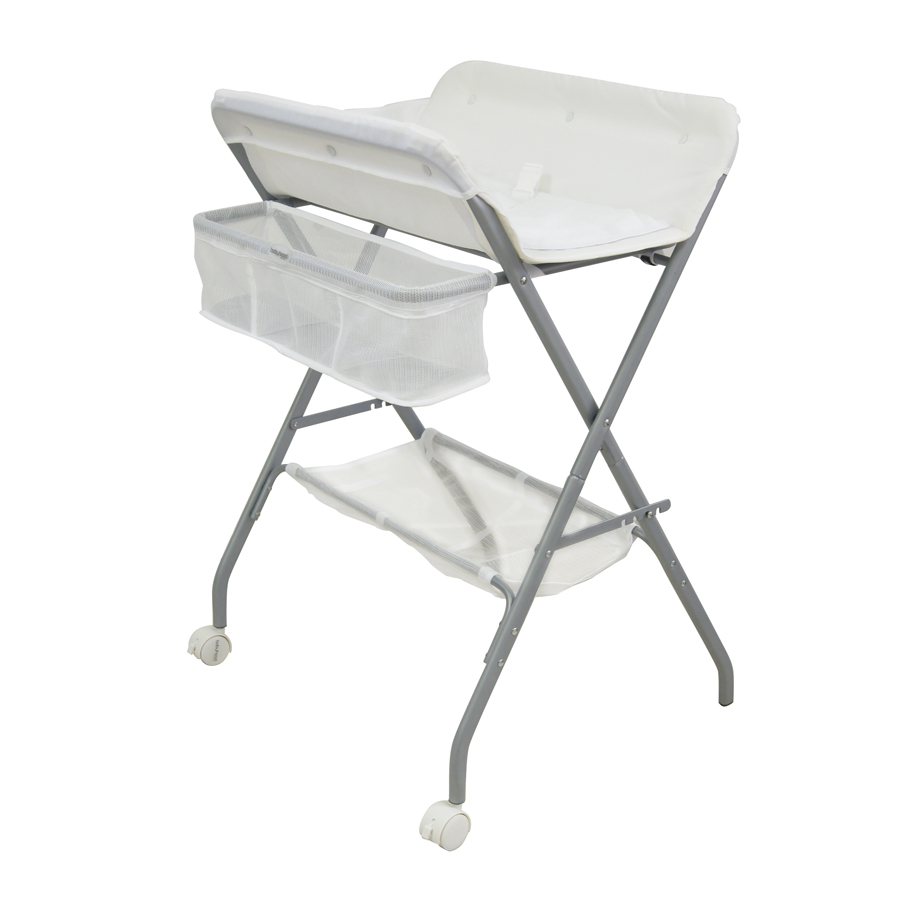 3 In 1 Deluxe Bath Stand, Change Table And Laundry Stand