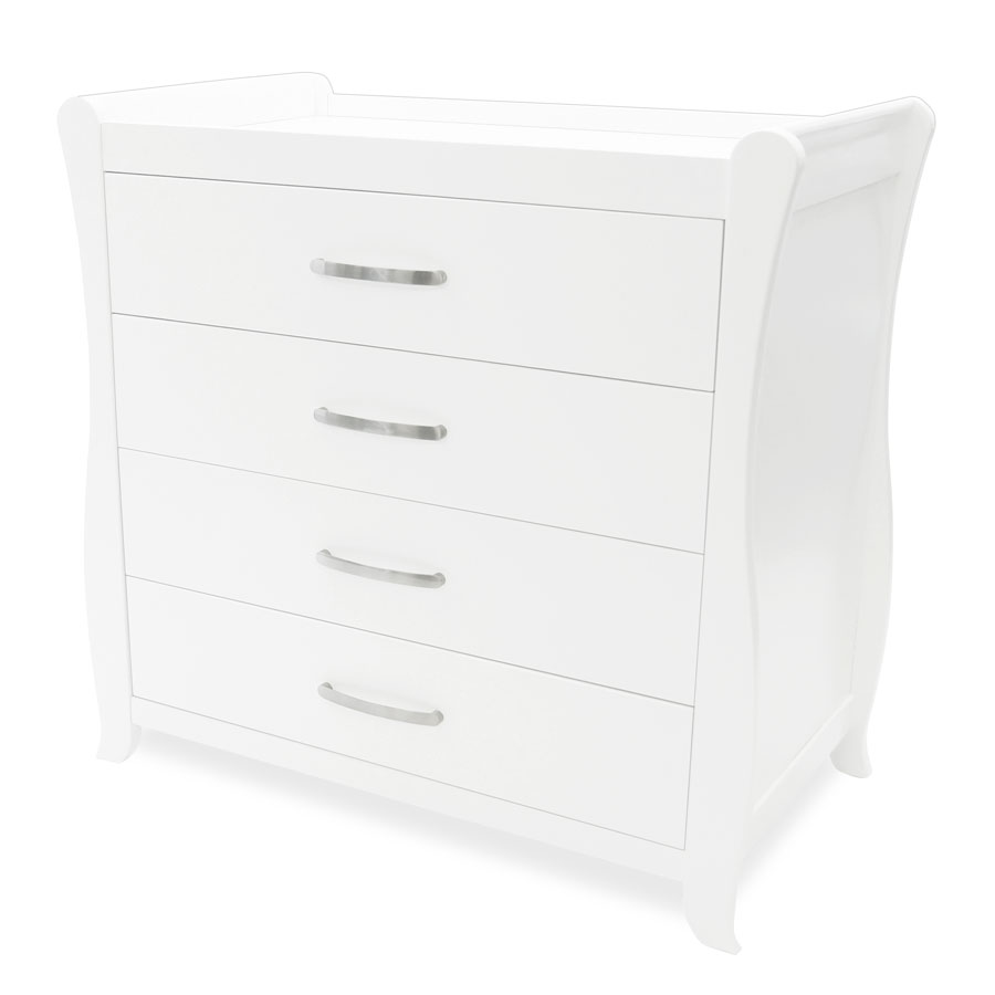 Sleigh Chest Of Drawers And Change Table Babyhood
