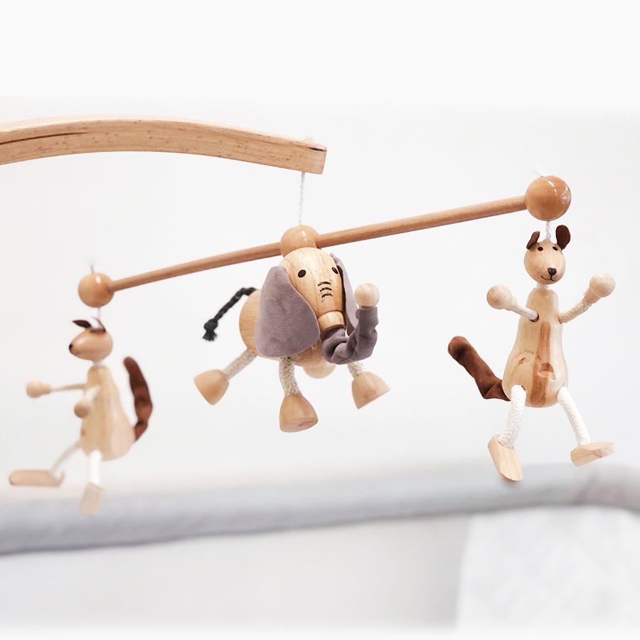 Co Sleeper Toys Elephant & Kangaroo