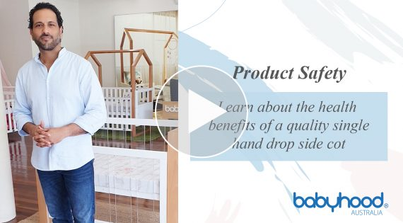 Learn about the health benefits of a quality single hand drop side cot