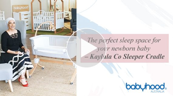 The perfect sleep space for your newborn baby – Kaylula Co Sleeper Cradle