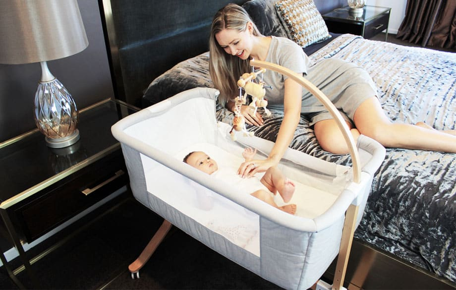 co sleeper cradle lifestyle